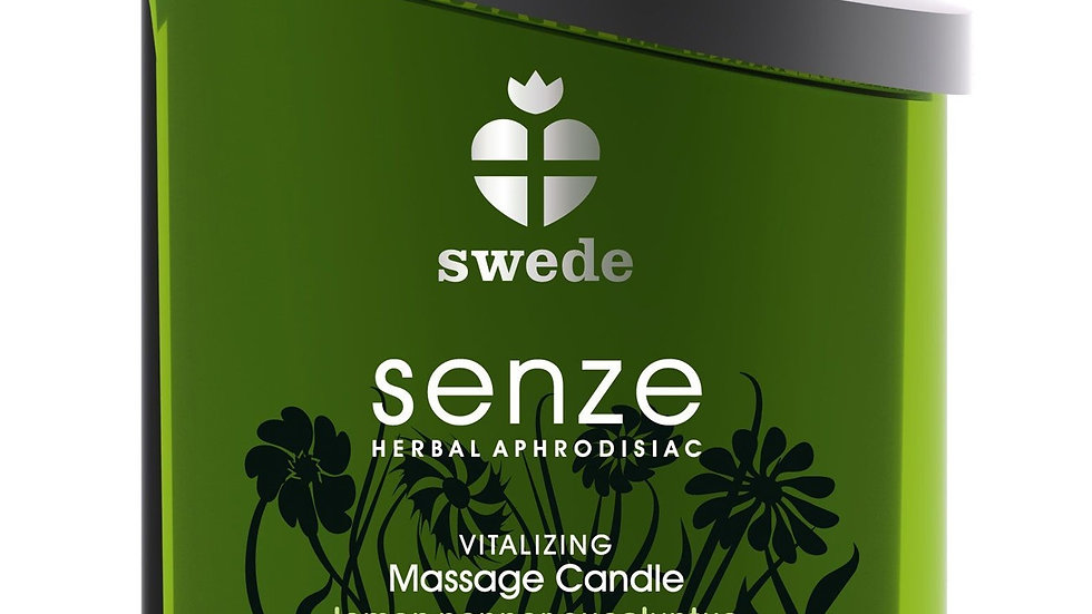 Bougie de massage Vitalizing Senze Citron Eucalyptus - 150 ml