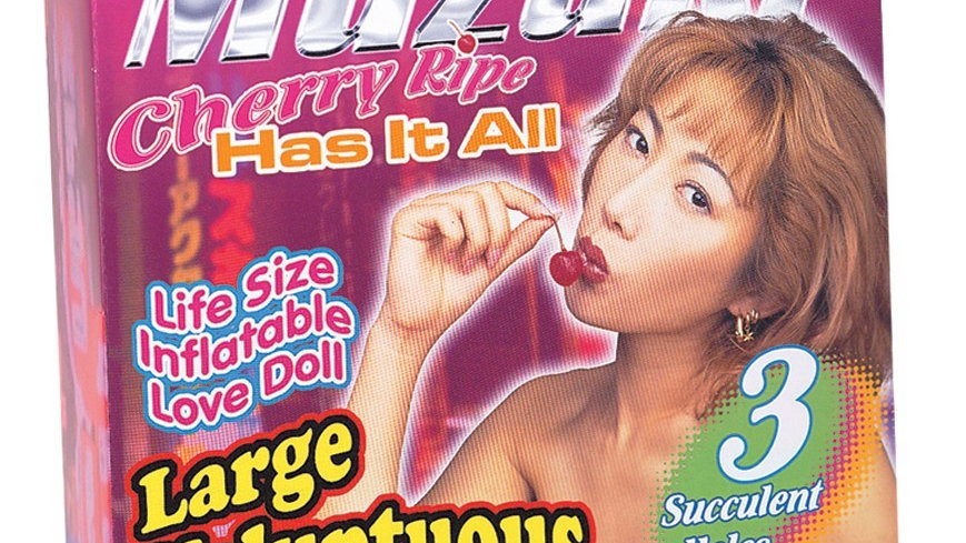 Poupee gonflable Asiatique Muzuki