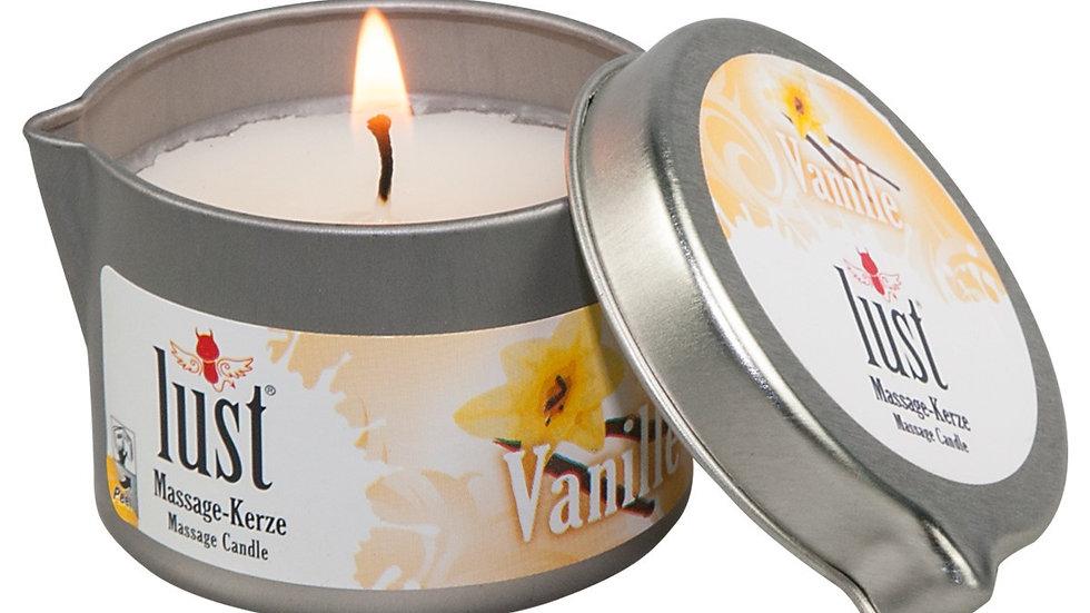 Bougie de massage Lust - Vanille 50 ml
