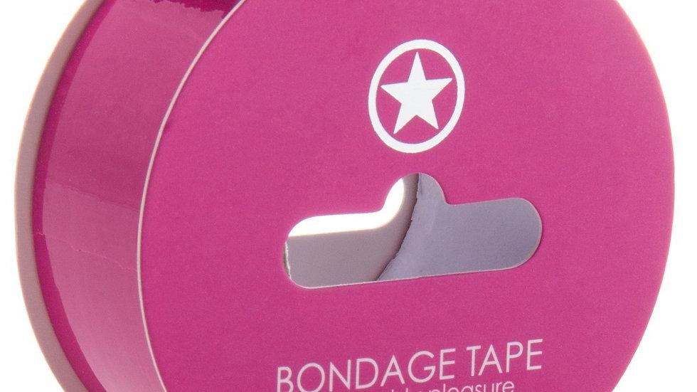 Bondage Tape Rose - 17 Mètres
