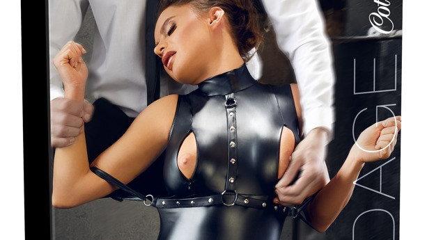 Body Bondage Avec Jarretelles et Contraintes - M