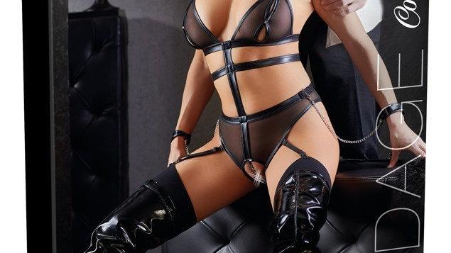 Body Bondage avec Chaines et Menottes - S