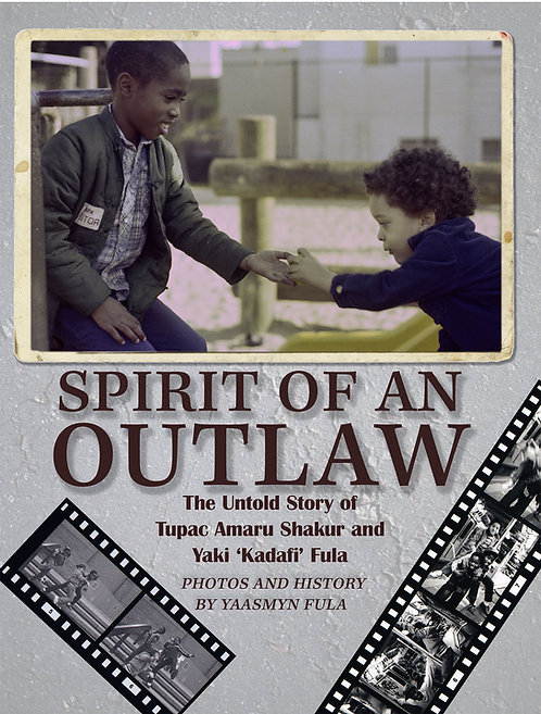 LIMITED EDITION - Spirit Of An Outlaw, Autographed Book