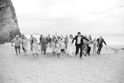 beach wedding lusty glaze