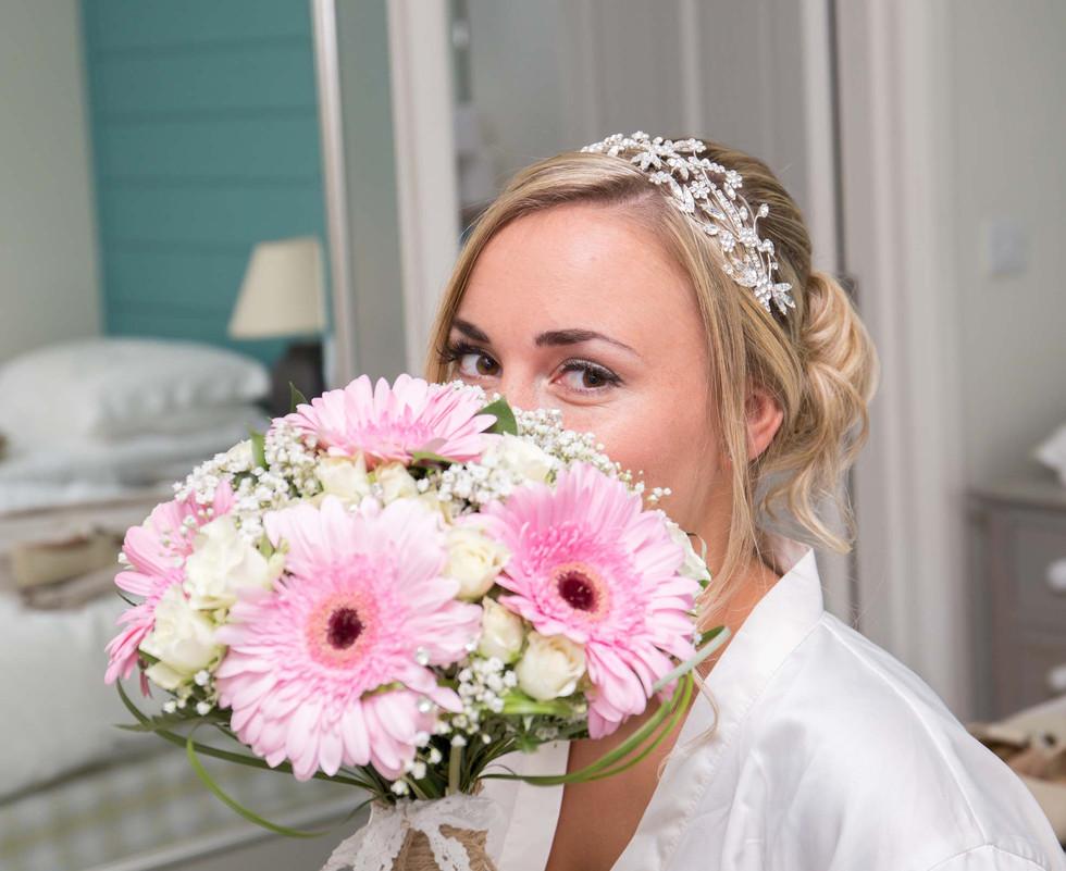 bride bouqet cornwall