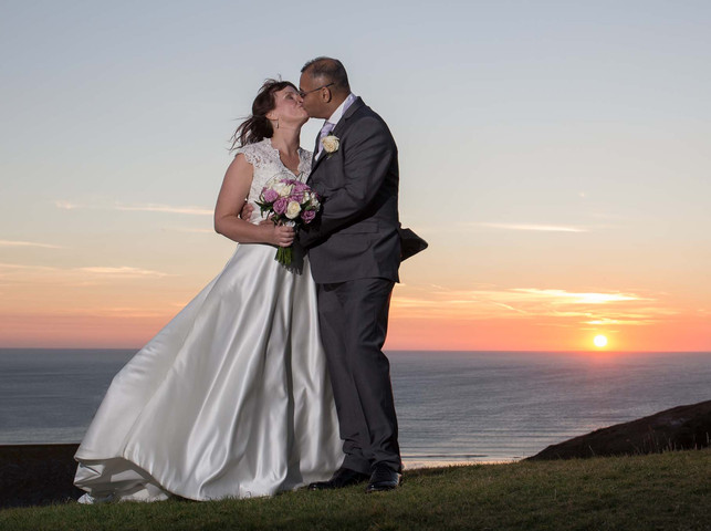 bedruthen steps weddings