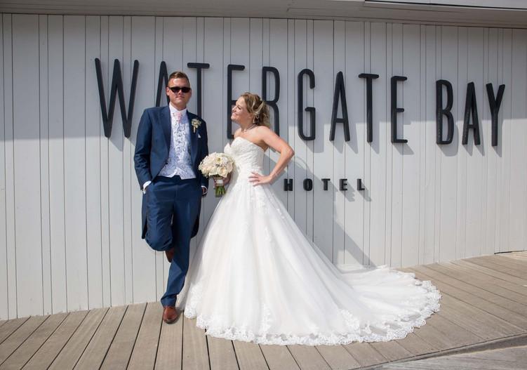 watergate bay wedding