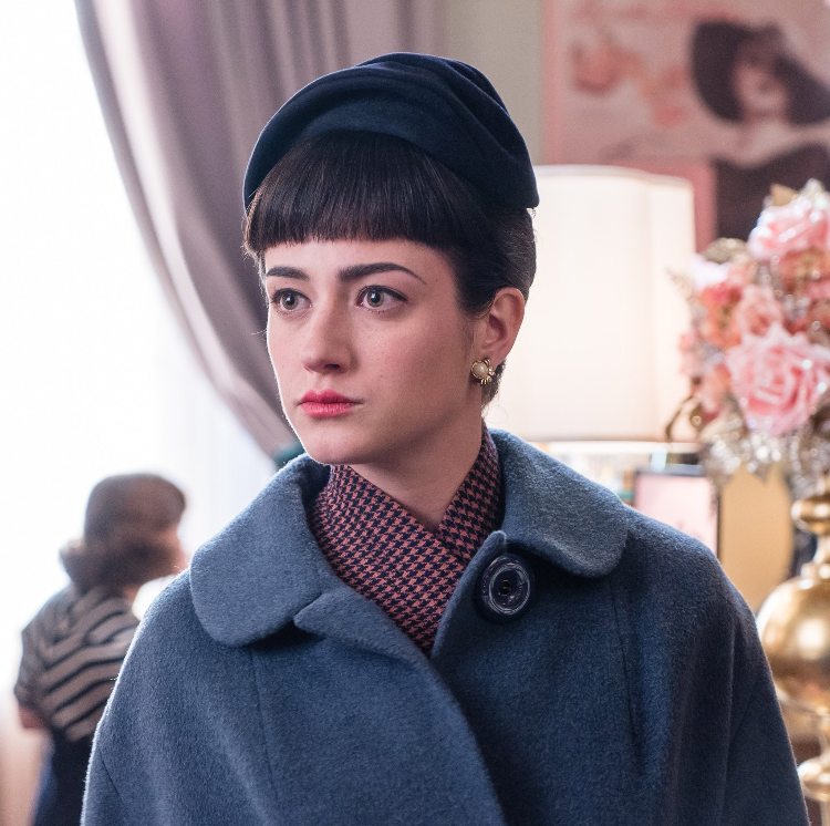 Holly Curran as Penny in The Marvelous Mrs. Maisel