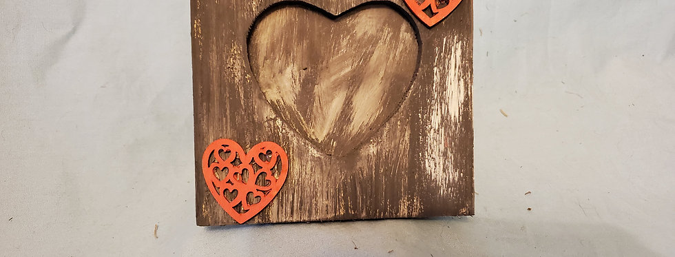 Picture heart frame