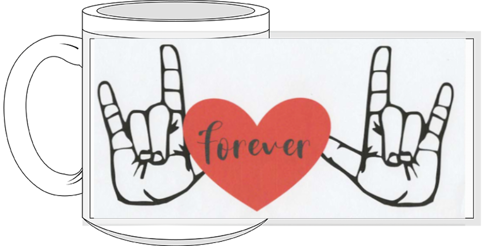 I love you forever in ASL