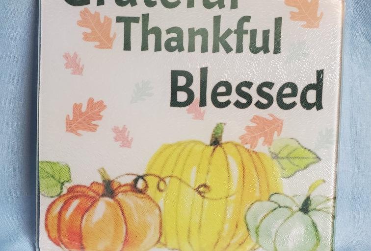 Grateful Cutting Board