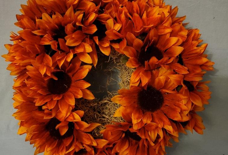 Daisy mum wreath