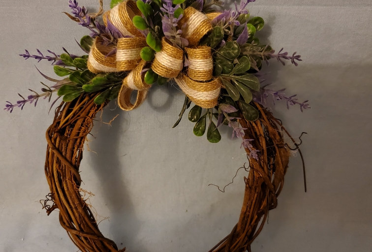 6inch small grapevine wreath