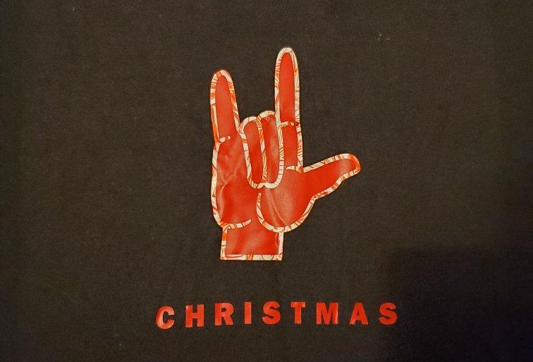 Merry Christmas Tshirt with I love you
