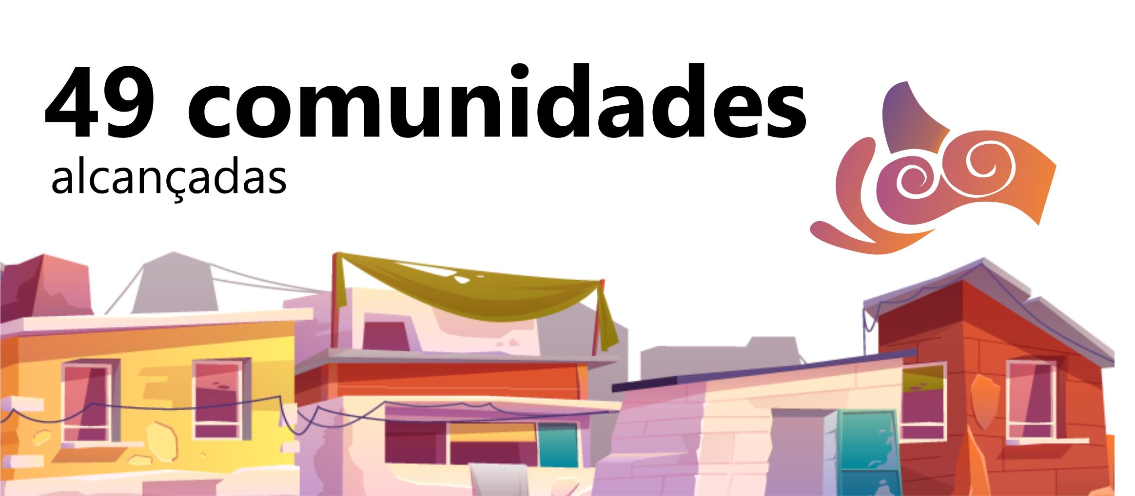 49 comunidades alcançadas