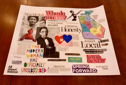 Examples of the Vision Boards