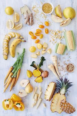 黃色食物健康分類