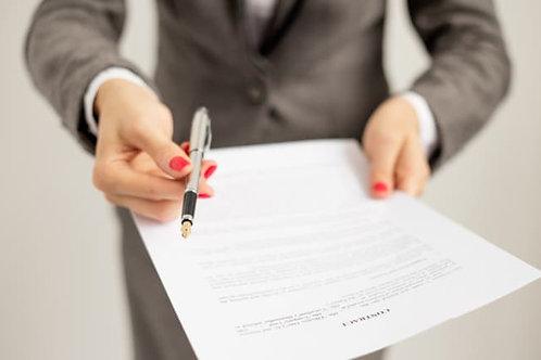 Carta de oferta de trabajo