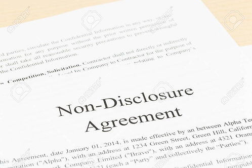 Non-Disclosure and Confidentiality Agreement