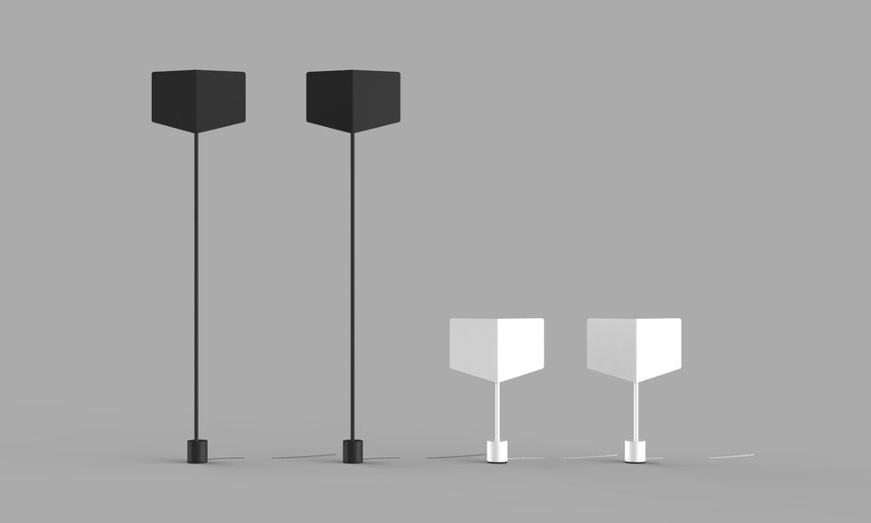 LAMPES ANTO sol et table