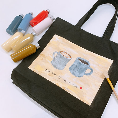 Tote Bag ( My Cup of Tea )