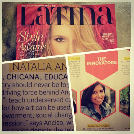#Latina30Under30:  It's Official!  I made it to Latina Magazine!