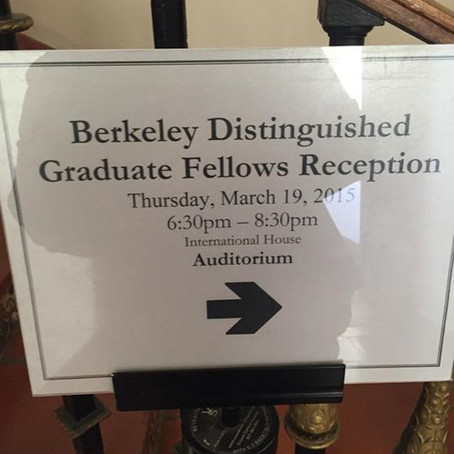 Berkeley Distinguished Graduate Fellow Program Reception
