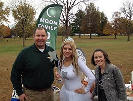 Moon Family Dental team at DaxFest in Washington, Illinois