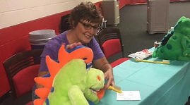 Linda at Special Olympics Special Smiles event