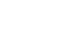 Moon Family Dental White Logo