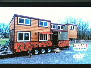 We were featured on DIY Networks Tiny House Big Living!