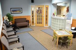 Moon Family Dental Waiting Room