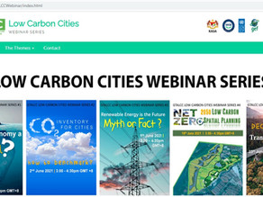 Low Carbon Cities webinars