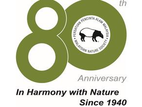 MNS 80-year logo