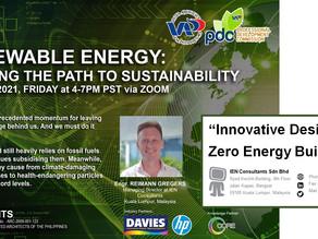 Innovative Designs in Zero Energy Buildings