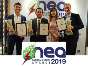 3 Awards @ NEA2019