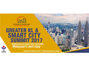 Greater KL & Smart City Summit 2017