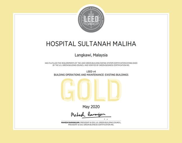 hospital-sultanah-maliha-leed-gold-cer