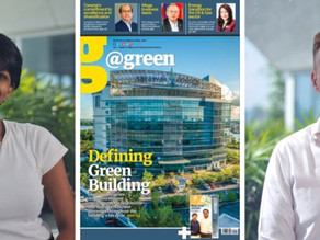 Read our two articles in @green magazine.