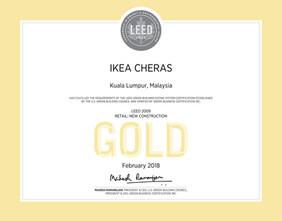 ikea-cheras-leed-certificatejpg