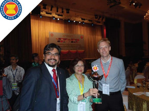 """""""ST Diamond Building"""" receives the ASEAN Energy Award for """"New and Existing Buildings"""""""