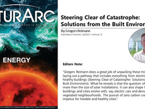 Steering Clear of Catastrophe: Solutions from the Built Environment