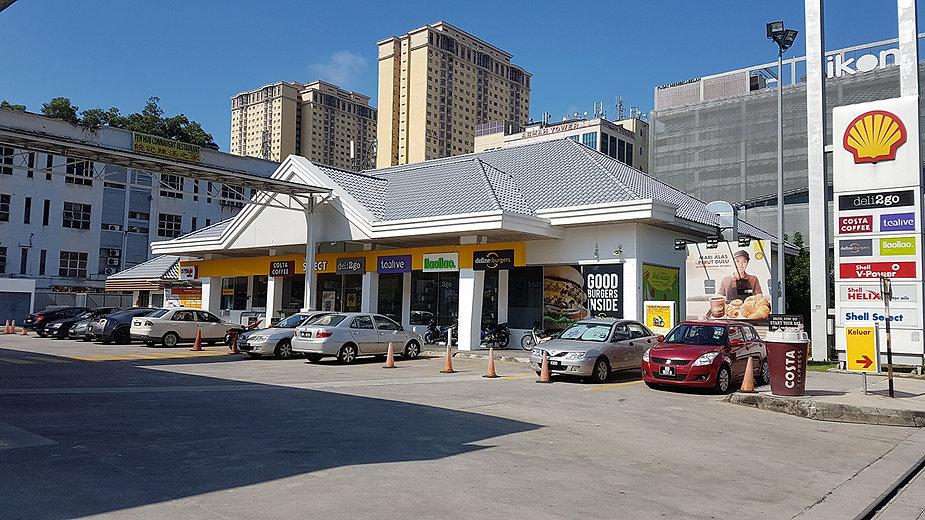 Shell Station Taman Connaught