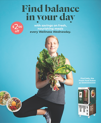 Wellness Wednesday Poster