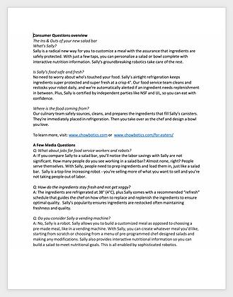 Resource: Media FAQs