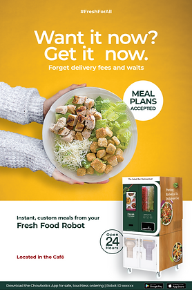Poster: Instant Meals