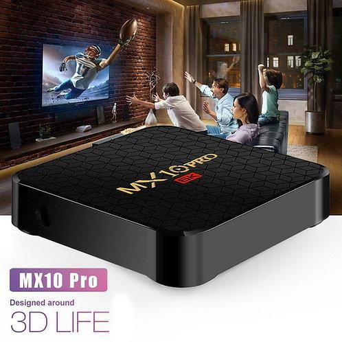 MX10 Pro Android 9.0 6K Quad Core TV Box 4G  WiFi