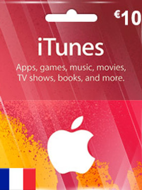 ABONNEMENT iTunes de 10 EUR (EN)