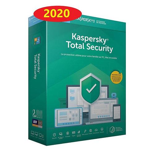 Kaspersky Internet Security 2020 | 3 Appareil | 1 An | PC/MAC