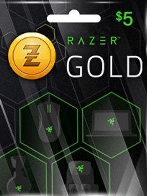 Razer Gold (global) 5 €